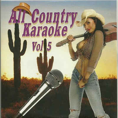 All Country Karaoke - AC05 - Front - karaoke song books