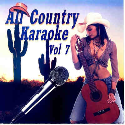 All Country Karaoke - AC07 - Front