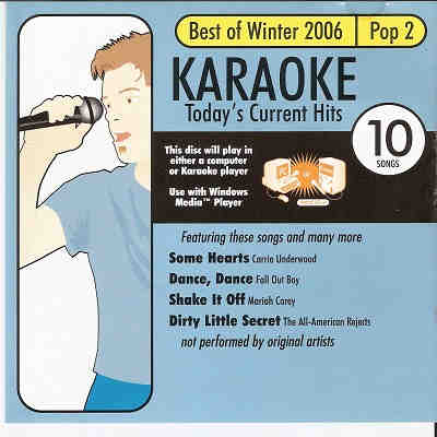 All Star Karaoke - ASK1003 - Front - current hits