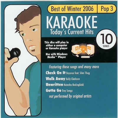 All Star Karaoke - ASK1005 - Front current hits
