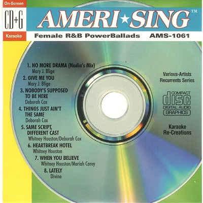 Ameri-sing Karaoke AMS1061 - Front