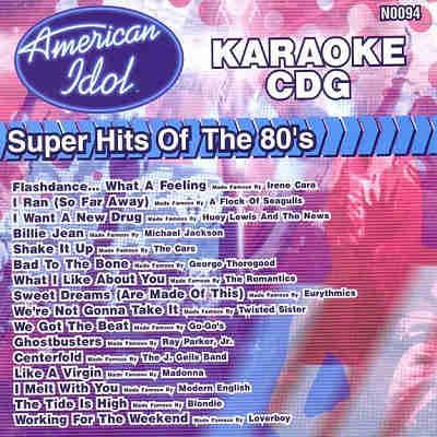 American Idol Karaoke AIN0094 - Front