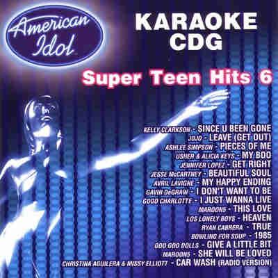 American Idol Karaoke AIN0120 - Front
