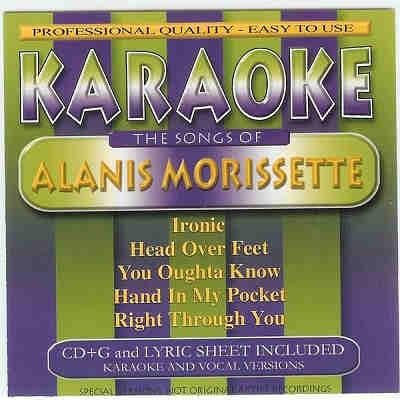 BCI Eclipse Karaoke BC40057 - Front - Alanis Morissette