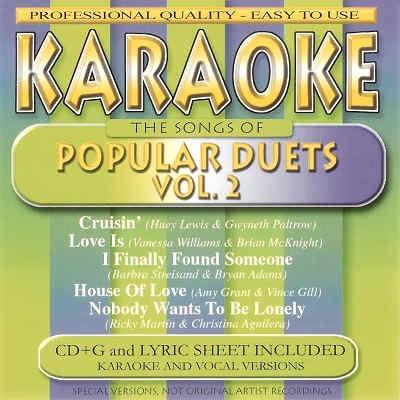 BCI Eclipse Karaoke BC40107 - Front - Duets