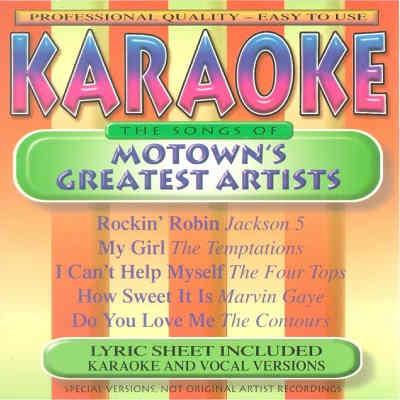 BCI Eclipse Karaoke BC849 - Front - Motown Hits