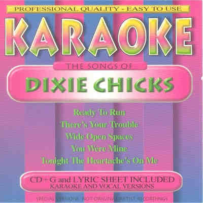 BCI Eclipse Karaoke BC862 - Front - Dixie Chicks