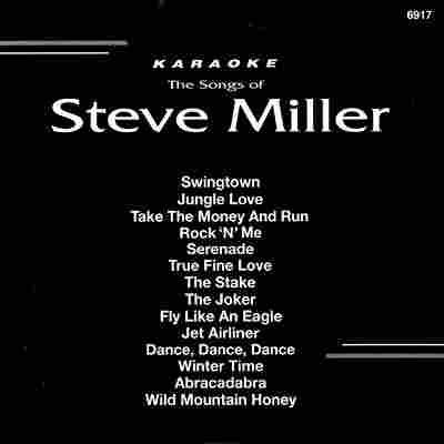 Backstage Karaoke BS6917 - Front - Steve Miller