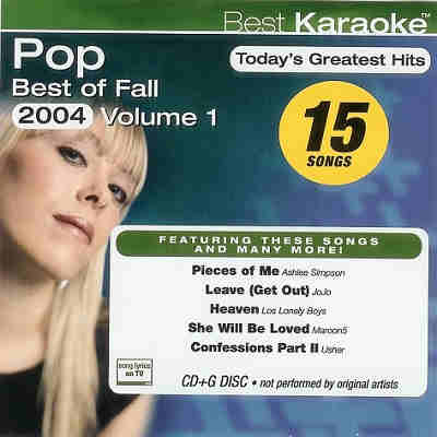 Best Karaoke BEST1529 CDG Covers