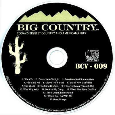 Big Country Karaoke CD+G BCY009