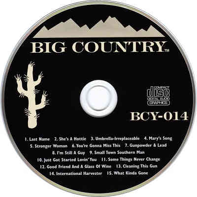 Big Country Karaoke BCY014 - Shack song book downloads