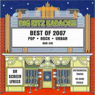 Big Hitz Karaoke BH0316 CDG Front
