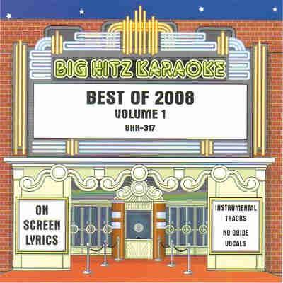 Big Hitz Karaoke BH0317 CDG Front - KARAOKE SHACK SONG BOOKS