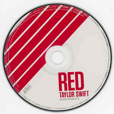 Big Machine Records Karaoke BMR430 Label Taylor Swift