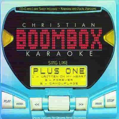 BoomBox Karaoke BBK20003 - CD+G Front - Christian Karaoke