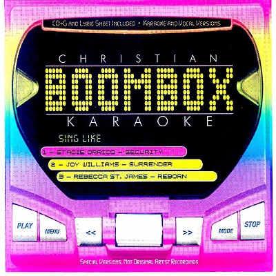 BoomBox Karaoke BBK20012 CDG Front