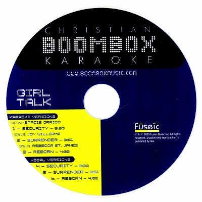 BoomBox Karaoke BBK20012 CDG Label - Boom Box
