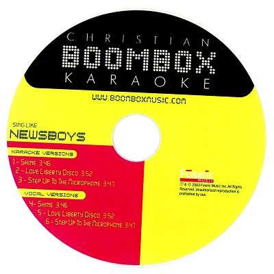 Boombox Karaoke BBK20009 - CDG Label