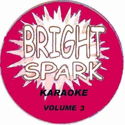 Bright Spark Karaoke BSK003 - Label