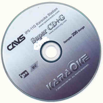 CAVS Karaoke CAVSSP1 - Super CD+G Label