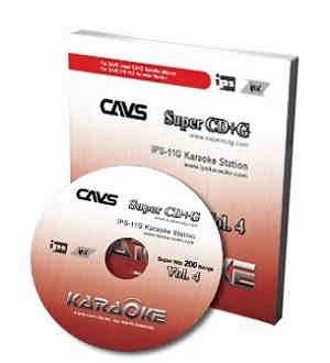 Cavs Karaoke CAVSSH04 - Super Hits 200 Vol 4