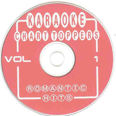 Chart Toppers Karaoke CT001 CDG Disc