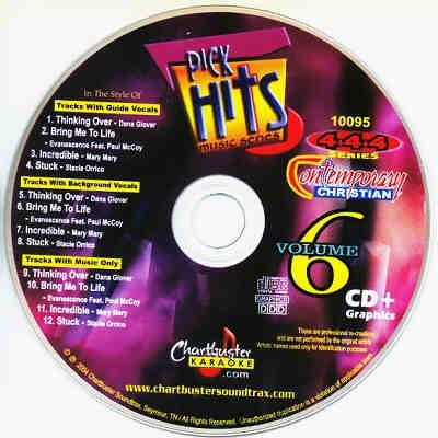 Chartbuster Karaoke CB10095 CD+G Disc