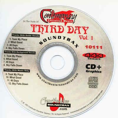 Chartbuster Karaoke CB10111 CD+G Disc