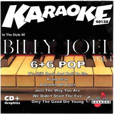 Chartbuster Karaoke CB40138 - CDG Front - Billy Joel