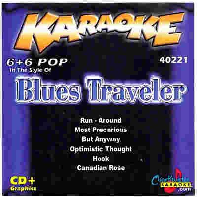 Chartbuster Karaoke CB40221 - CDG Front - Blues Traveler