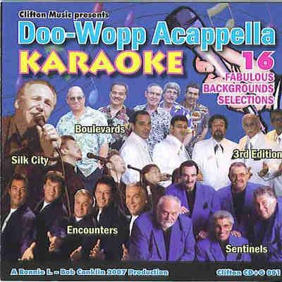 Clifton Music Karaoke - DOOWOP001 - Front Cover