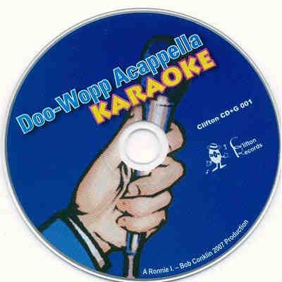Clifton Music Karaoke - DOOWOP001 - CDG Label
