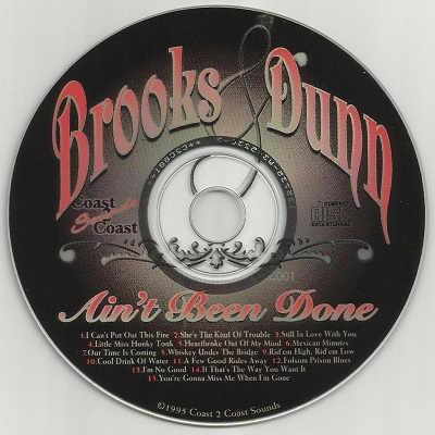 Coast To Coast Karaoke - C2C001 - CDG Disc Label