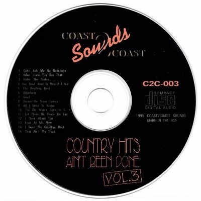 Coast To Coast Karaoke - C2C003 - CDG Disc Label