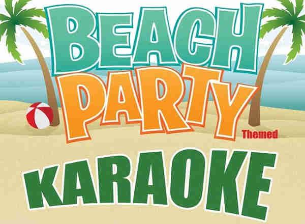 Coast To Coast Karaoke - Beach Party logo