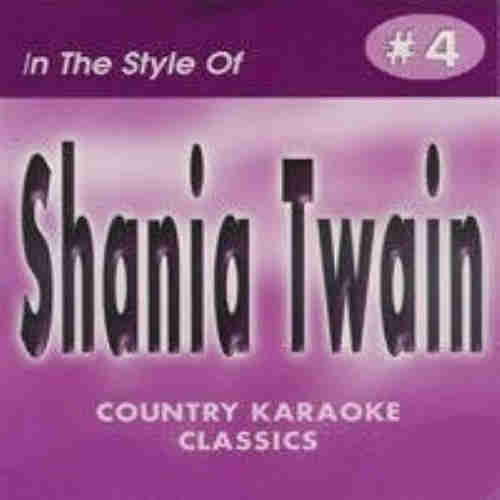 Country Karaoke Classics CKC004 Shania Twain