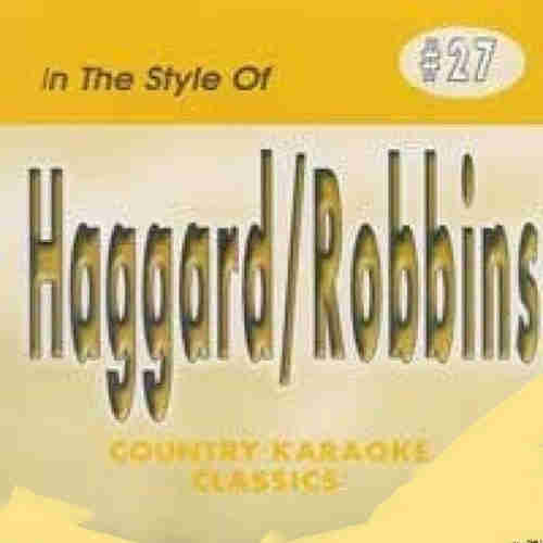 Country Karaoke Classics CHK027 - Haggard and Robbins