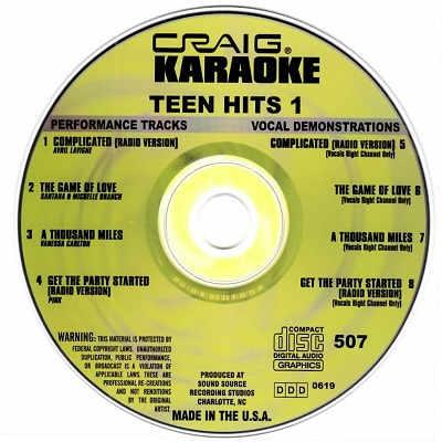 Craig Karaoke - CRK507 CDG Disc