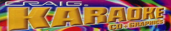 Craig Karaoke - Logo and Banner colourful