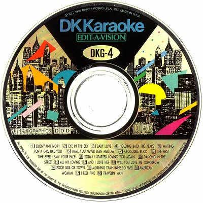 DK Karaoke - DK004 - Label