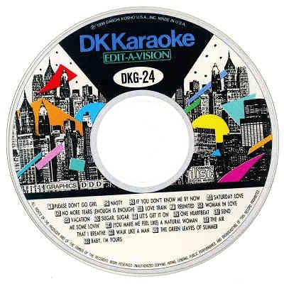 DK Karaoke - DK024 - Label