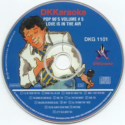 DK Karaoke - DK1101 - Label