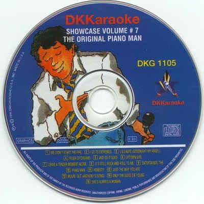 DK Karaoke - DK1105 - Label