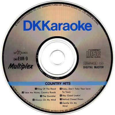 DK Karaoke - DKE09 - Label