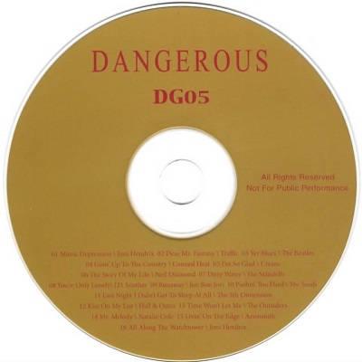 Dangerous Karaoke DG05 CDG Disc