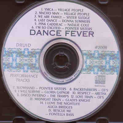 Druid Performance Tracks - Dance Fever - DPT2009 - Label