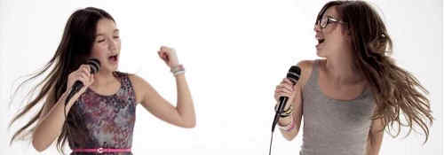 Ameri-Sing Karaoke series - two girls singing