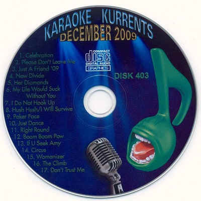 Karaoke Kurrents - KK0403 Label