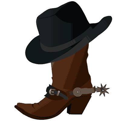 Big Hitz Karaoke Cowboy hat and boot