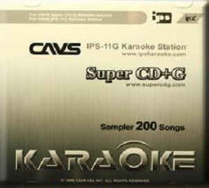 Cavs Karaoke - Super CD+G 200 song sampler disc